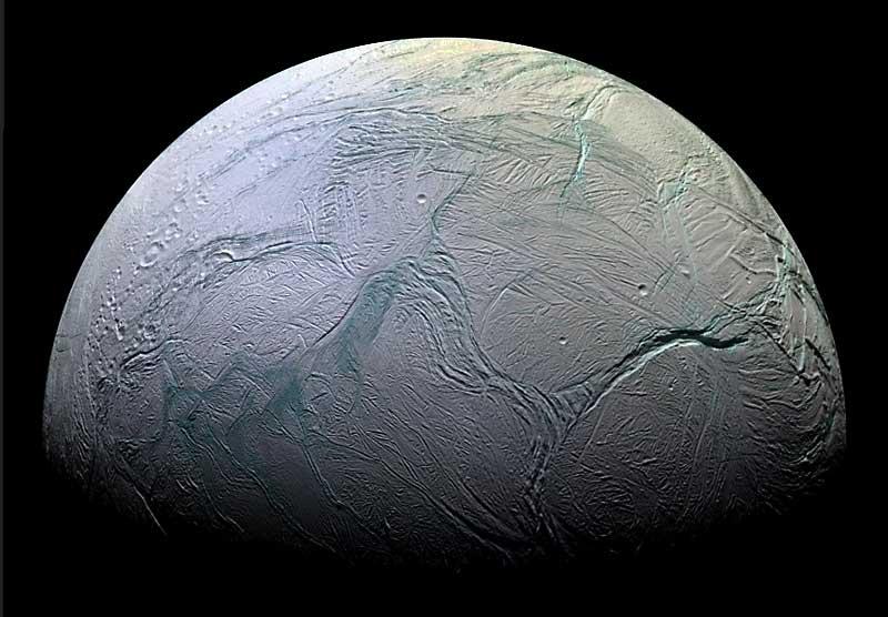 "Asymmetric tectonic activity on Saturn's Moon ""Enceladus ..."