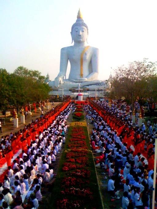 Buddhist New Year Gigantic Buddhist Rose...