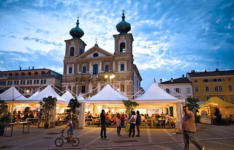 Vegetarian Festival in Gorizia, Italy